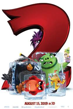 The Angry Birds Movie 2 (3D)